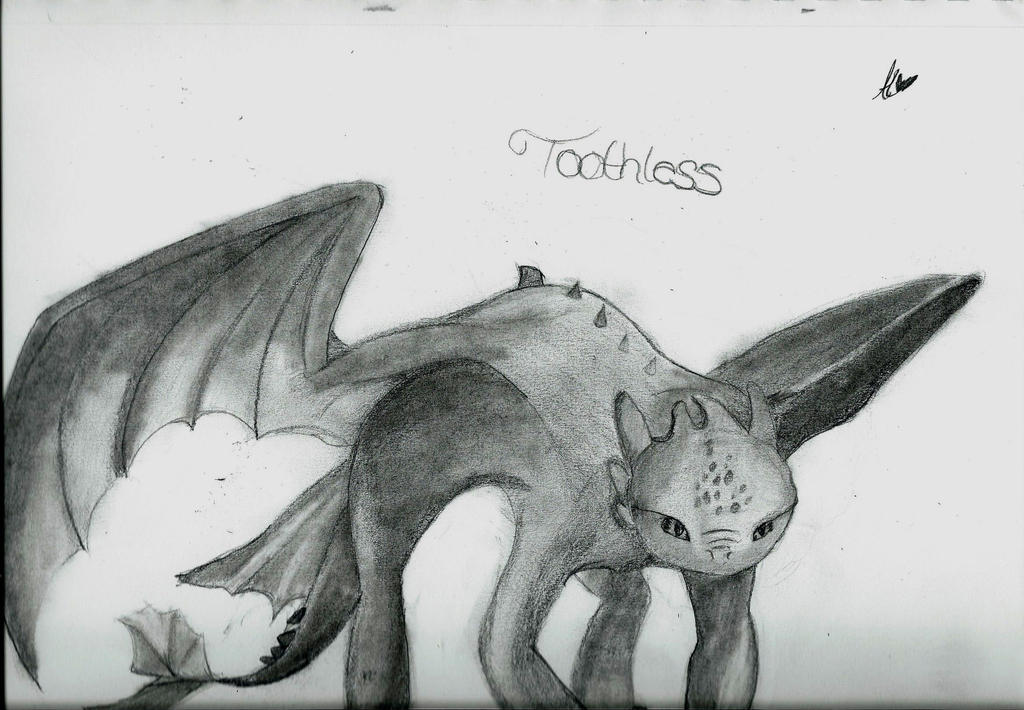 Toothless by happyface44100