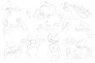 SATIM sketches - June 2020
