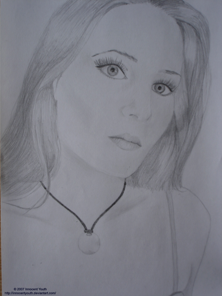 Simone Simons Portrait by innocentyouth