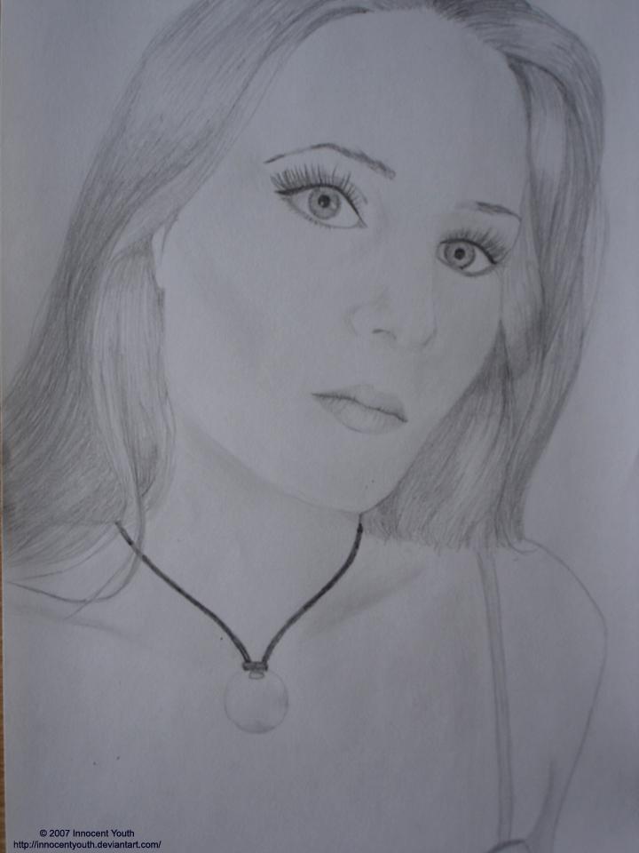Simone Simons Portrait by innocentyouth