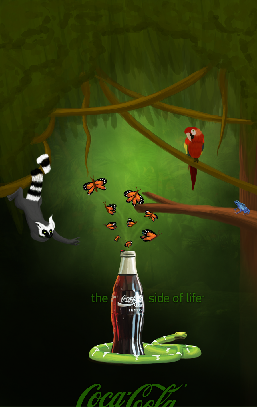 the coke side of life Coca cola and pepsi print ads (37 advertisements)  celebrate non-stop on the coke side of life celebrating our identity on the coke side of life coca-cola light.