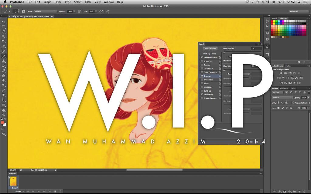 W.I.P Coffy re-design by Howazzim