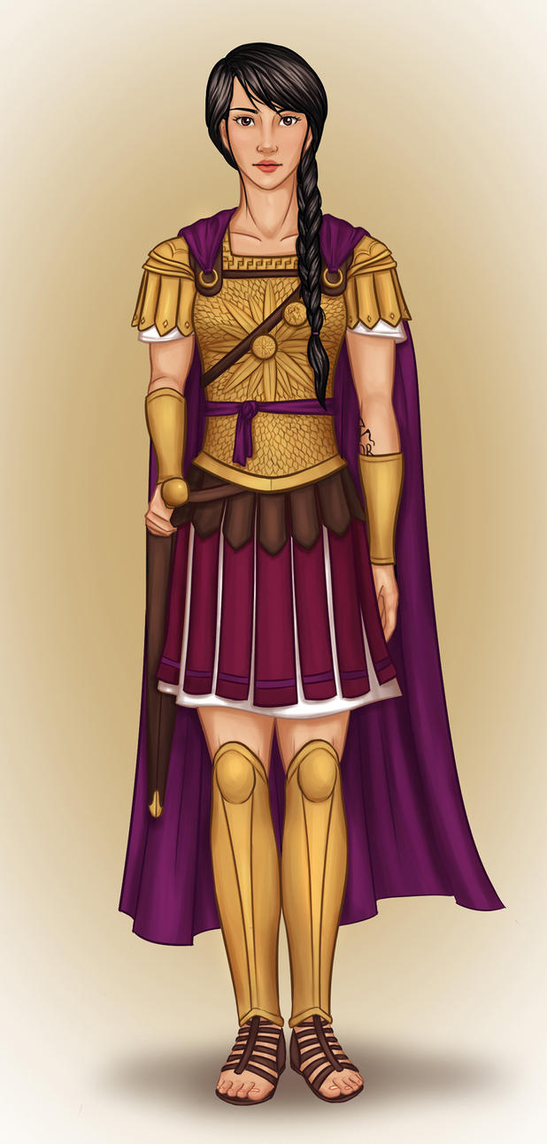 Praetor of New Rome by Isuani on DeviantArt