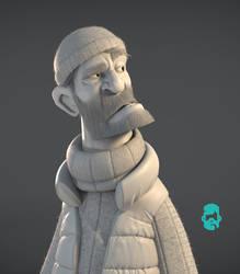 Matt-thorup-theskipper-grey by shaundobie