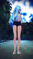 [MMDVIDEO] Hatsune Miku . Rough [4KUHD][CAM DL] by CegooK