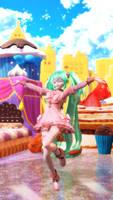 [MMDVIDEO] Hatsune Miku-Lots of Laugh [5KUHD]