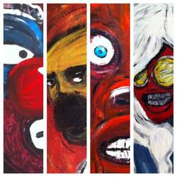 paintings by Matbuk