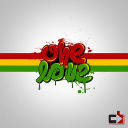 One Love Typography