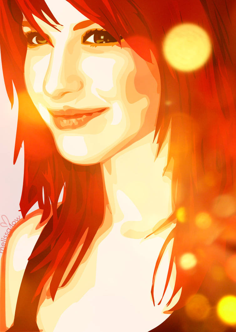 Hayley W Vector with lights