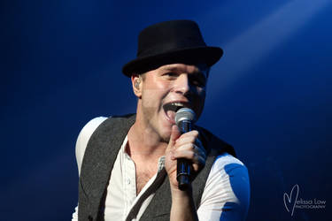 Olly Murs in concert in Auckland, NZ 2013