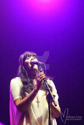 Ginny Blackmore live at Vector Arena, Auckland NZ