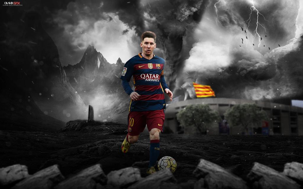 Leo Messi Wallpaper 2016 By Chakib Design