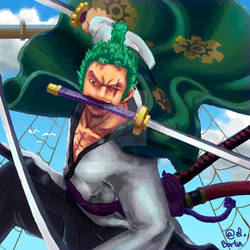 Zoro - One Piece - Fanart