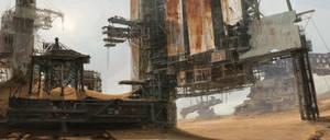 Abandoned Mining Rig