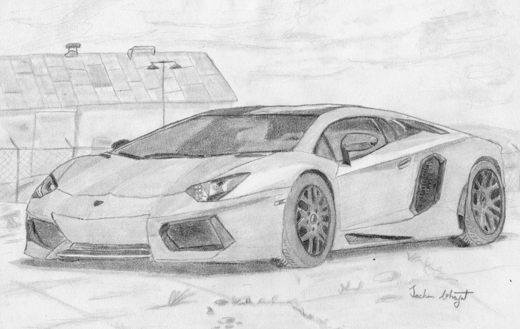 Lamborghini Sketch By Sachin Bhagat On Deviantart
