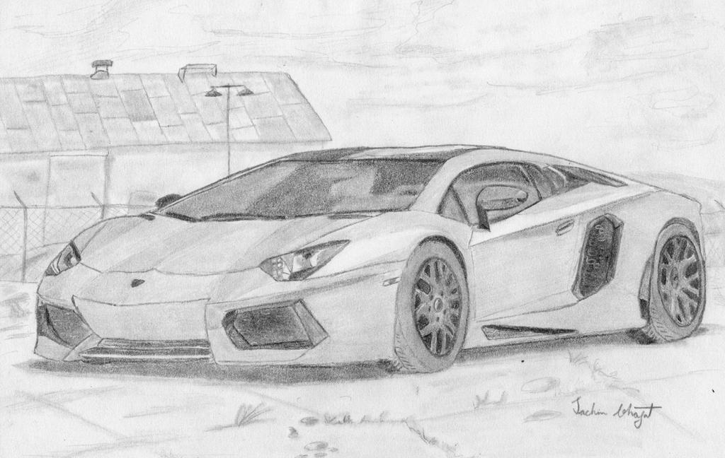 Lamborghini Sketch By Sachin Bhagat