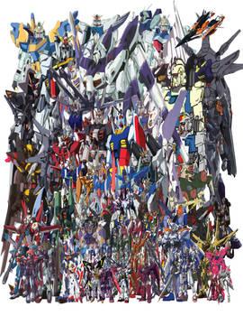 Every Last Gundam