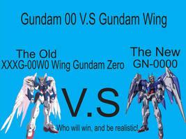 Wing Zero Vs GN-0000 by ZGMF-X20-Freedom