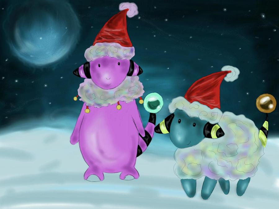Pokemon Holiday by 0TheNobody0