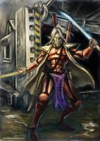 Arathir the eldar Corsair 2 by DeMarchese