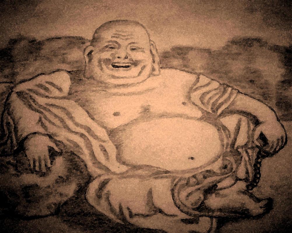 Enlightened Buddha by ARTificialphanTOM