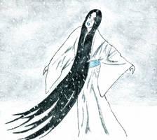 Yuki-onna by ARTificialphanTOM