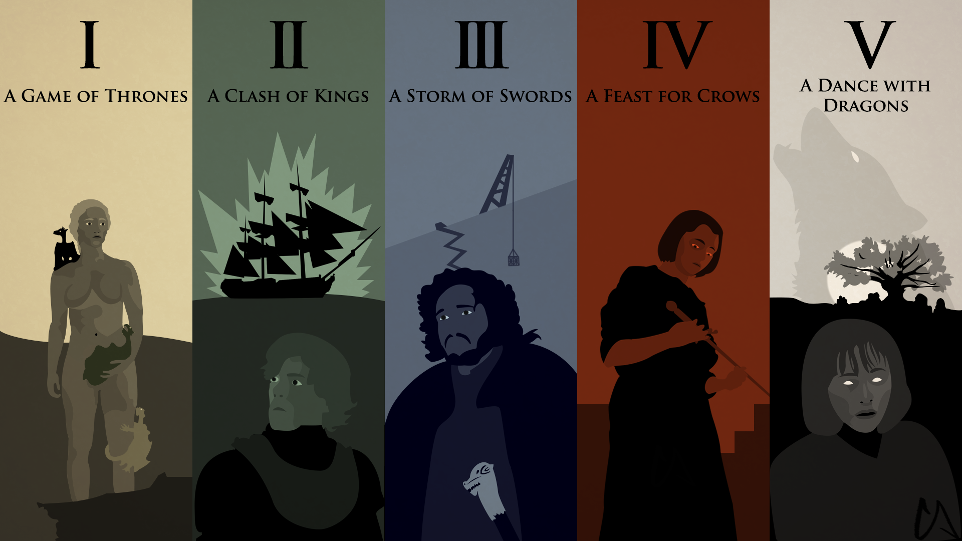 A Song Of Ice And Fire Wallpaper By Conkoon On Deviantart