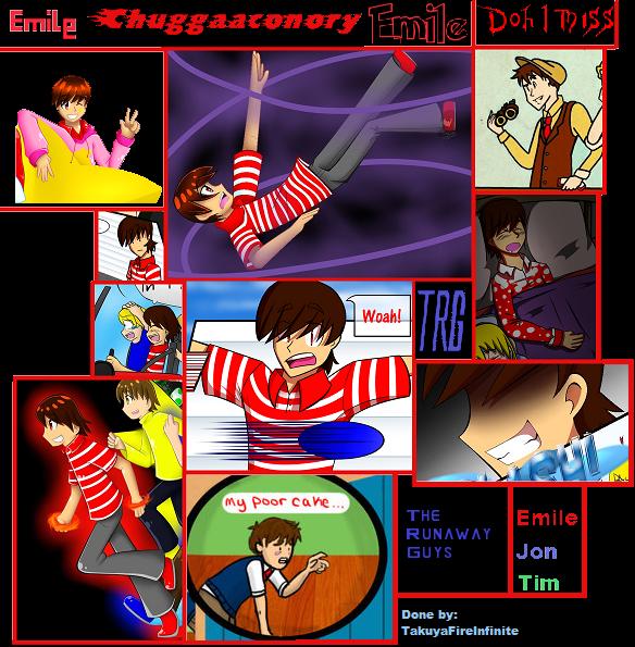 The runaway guys collage chuggaaconory by takuyafireinfinite