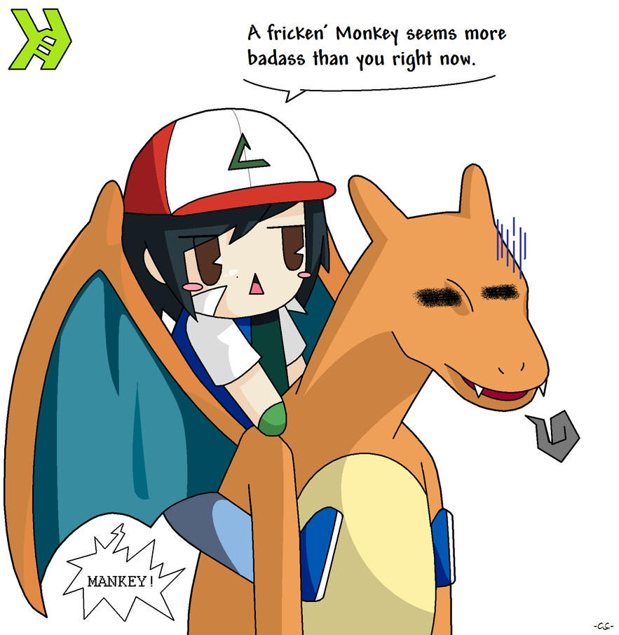 Charizard cannot learn Fly by ExxDxx13 on DeviantArt