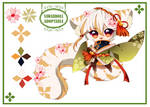 [CLOSED] Adoptable AUCTION - PuffyPouri Species 06