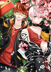 The twin - 707 and Saeran