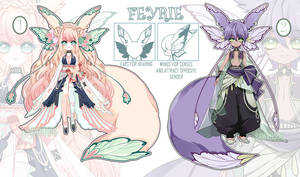 [CLOSED] FEYRIE Adoptable - Closed species
