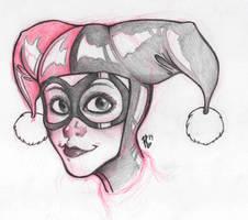 Harley Quinn - Sketch by raffabr94