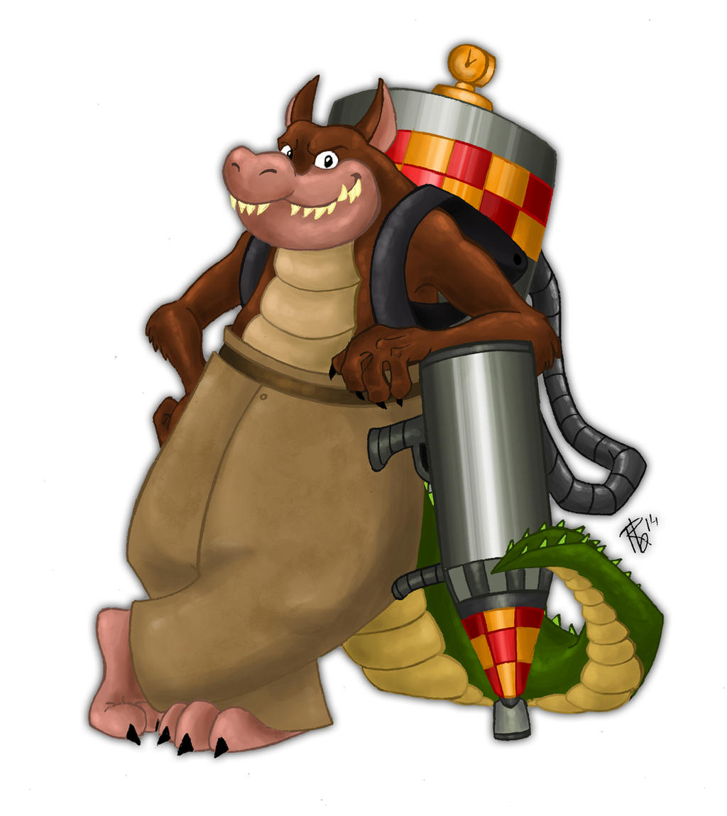 Dingodile Crash Bandicoot By Raffabr94 On Deviantart