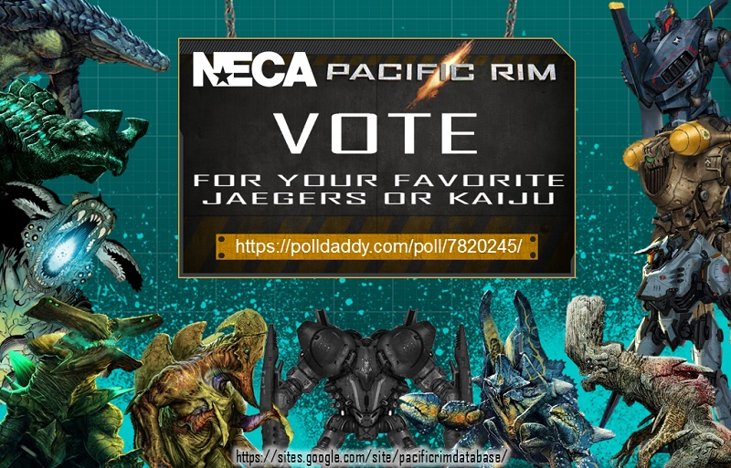 VOTE: 7'' Pacific Rim Figures from NECA by Mr-X-The-Kaiju ...