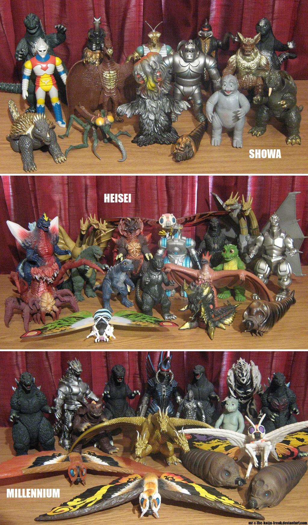 Bandai 8 Inch Godzilla Vinyl Collection By Mr X The Kaiju