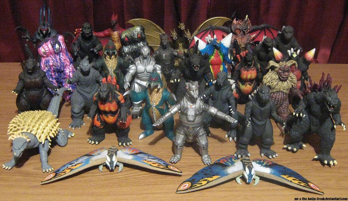 Bandai Creation 6 Inch Godzilla Collection By Mr-X-The