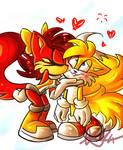 Tails x Fiona