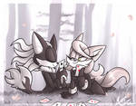 AT: Infinite x Lucky by Blossom-fur7