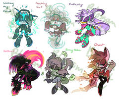 Mystery Skulls Adopts- Auction- CLOSED by Blossom-fur7