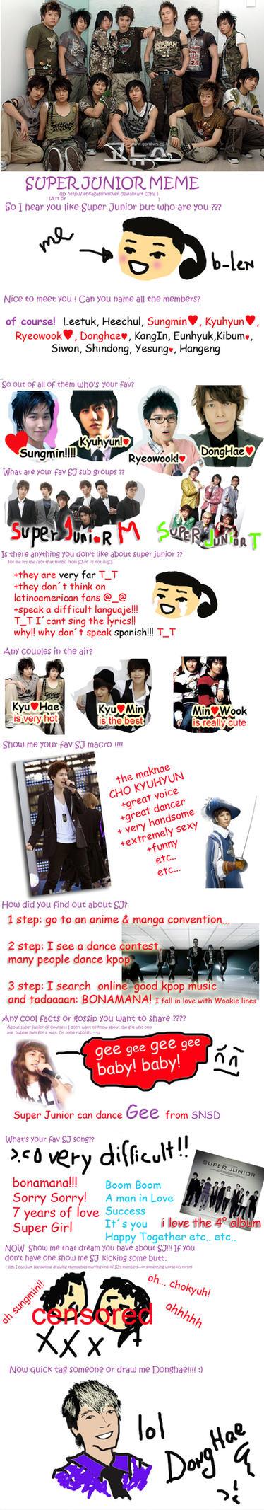Super Junior Meme by BLen