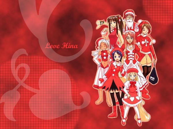 Love Hina Wallpaper By B Len On Deviantart