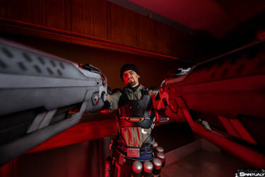 Reaper - Gabriel Reyes cosplay by Kuromaru-dono