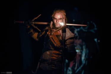 Geralt of Rivia cosplay by Kuromaru-dono