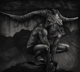 SkullMan Concept by disresponsible