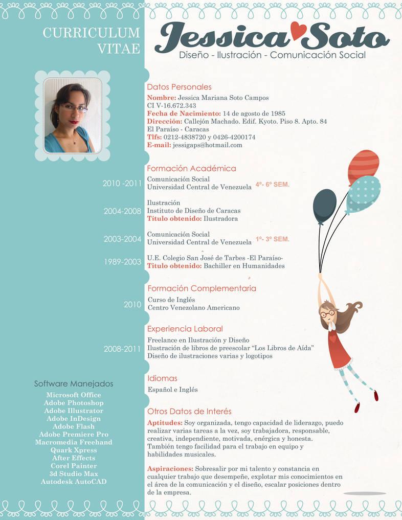 My Resume by Jessigaps
