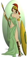 Athena by K-Laine