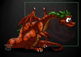 Toony Dragon Stripes by pearlzu