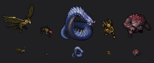Pox Nora Sprite Close Ups