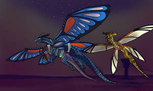 Escaping the HiveWings by GDTrekkie